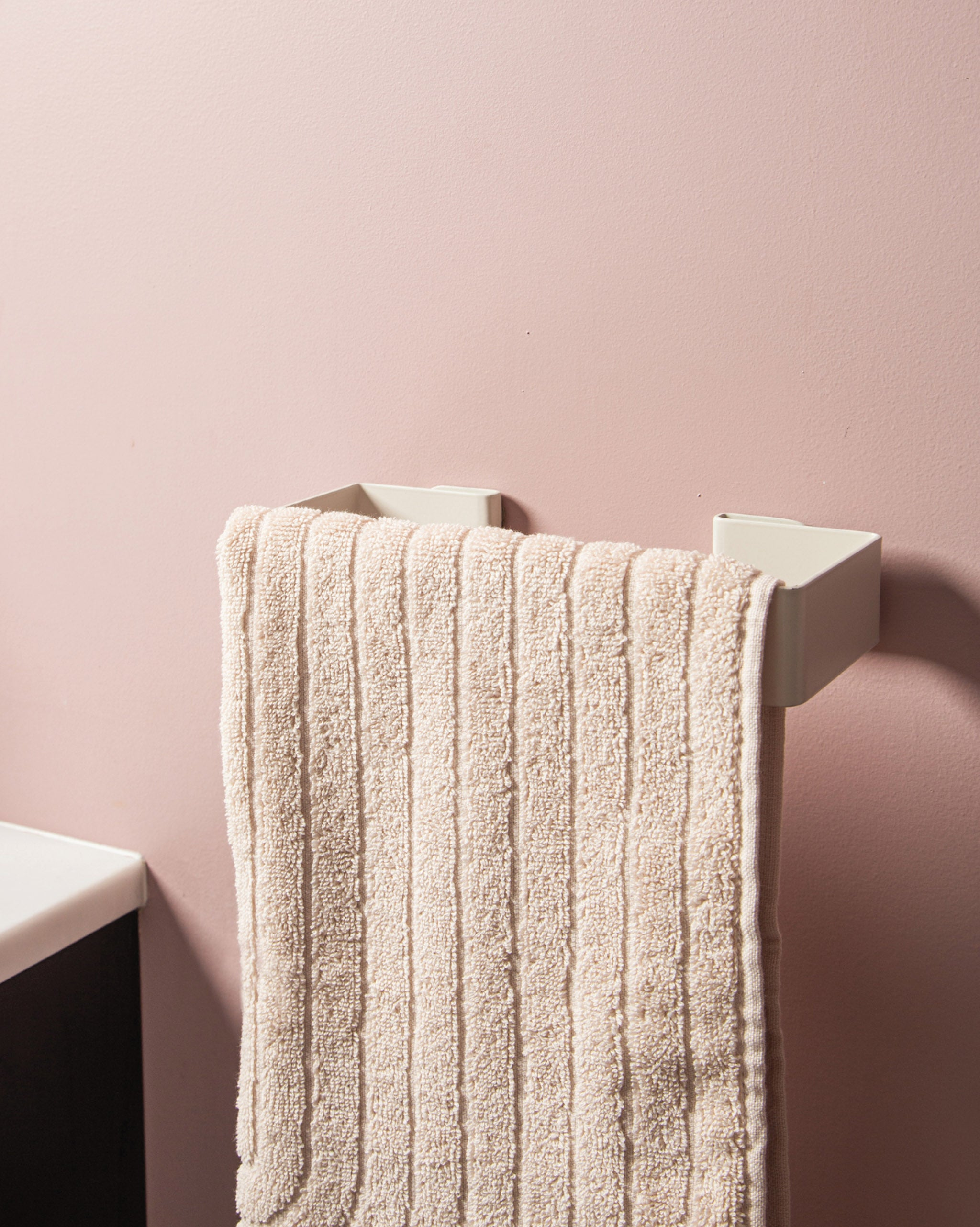 Hand Towel Holder - White
