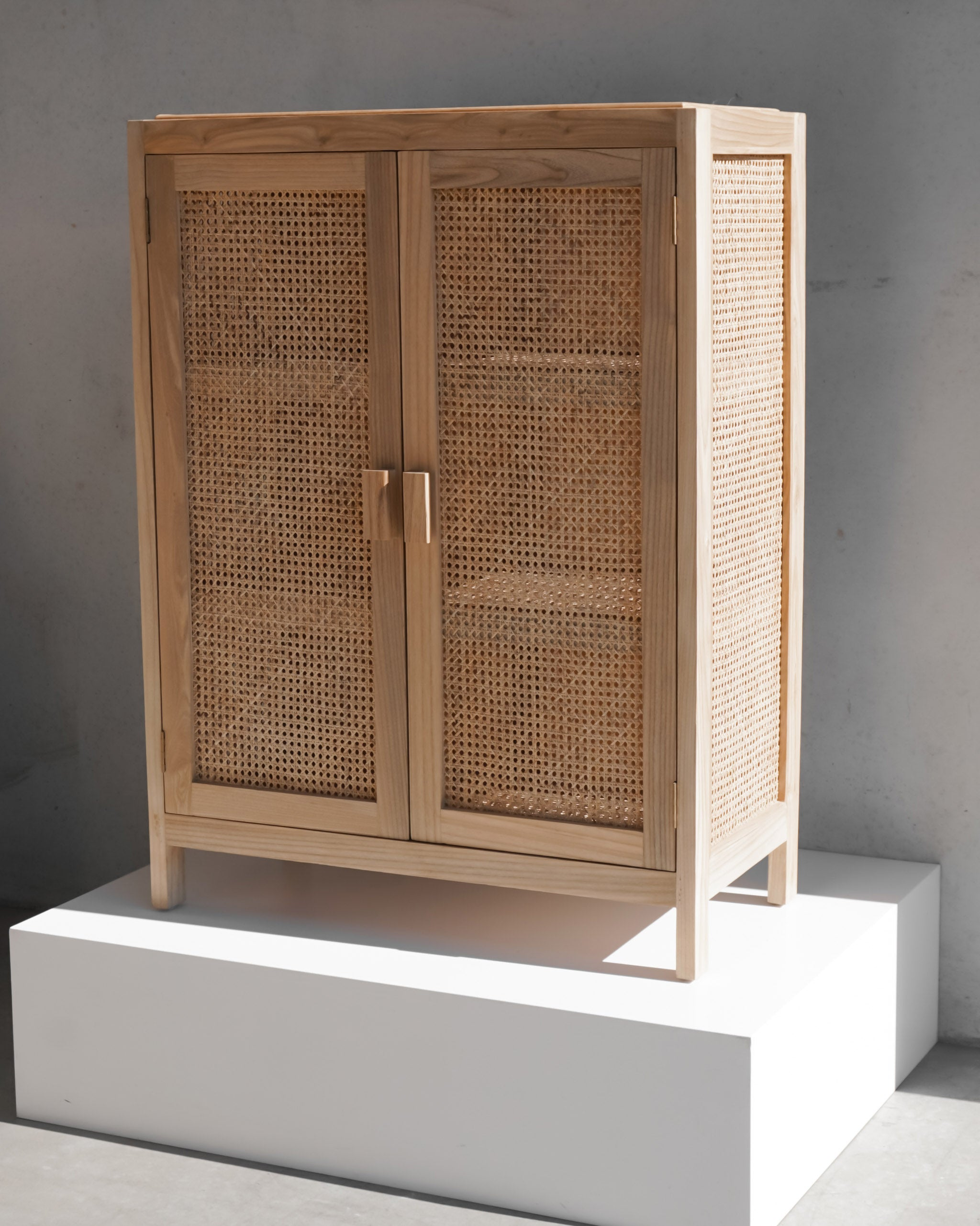 Sol Woven Cabinet