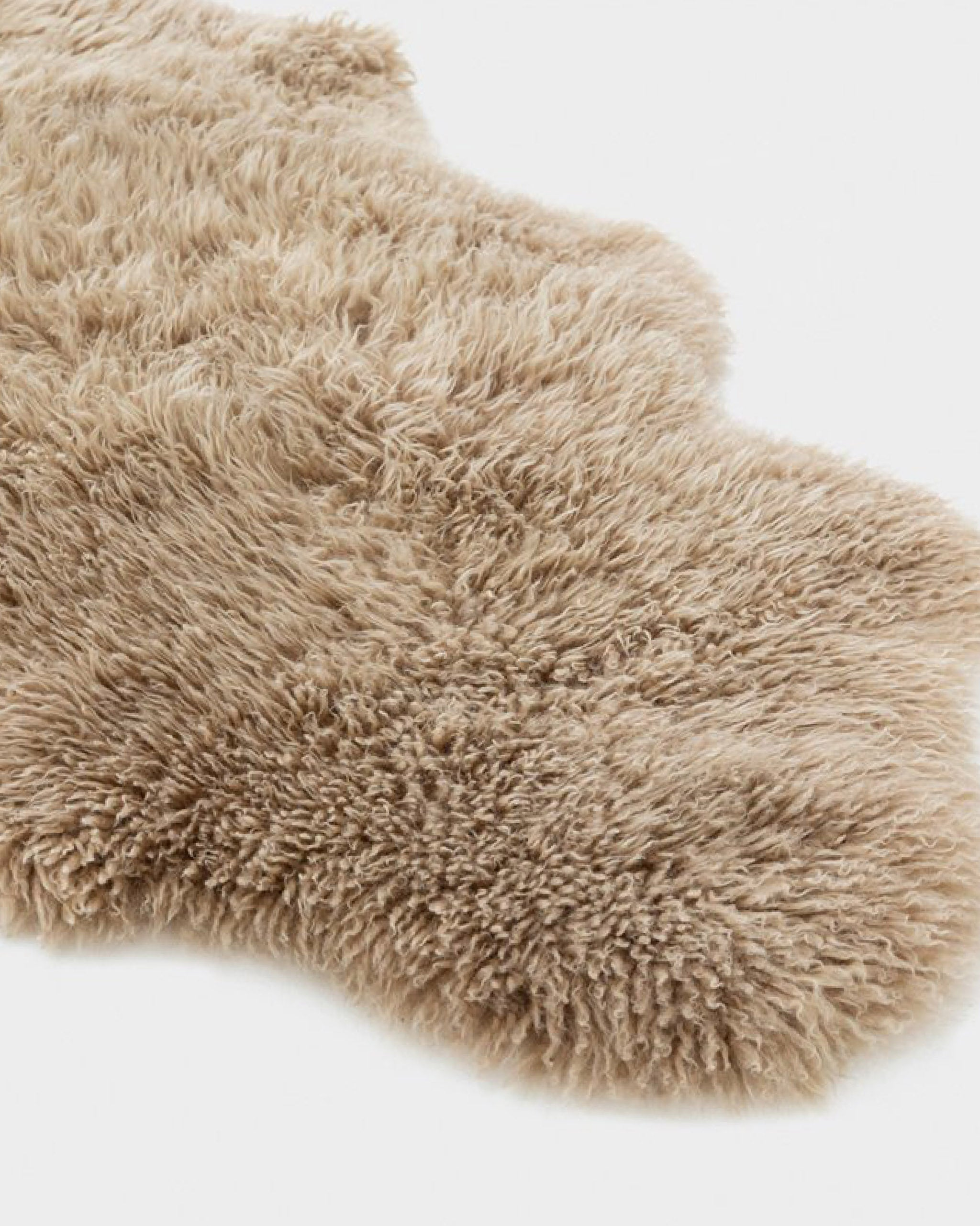 Shaggy Sheepskin - Honey