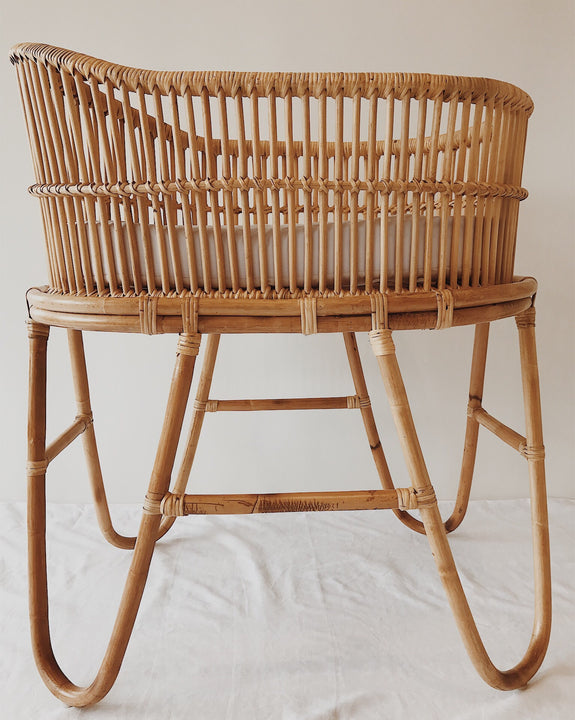 Rattan Baby Bassinet - MOSES
