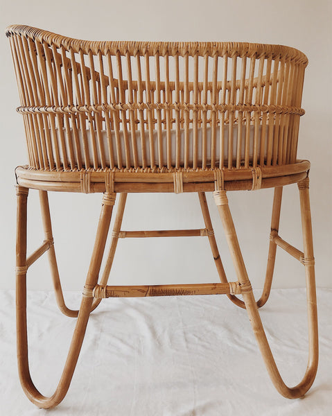 Rattan Baby Bassinet - MOSES (PRE ORDER)