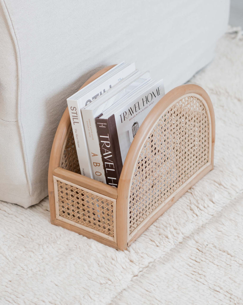 Rattan Book Stand