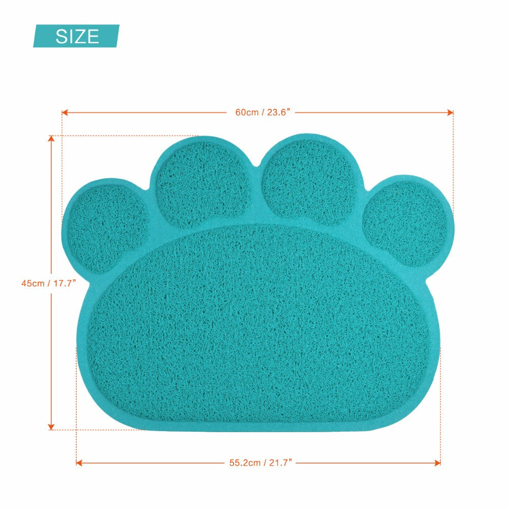 pet personalized bowl microfiber mat dog large mats place water