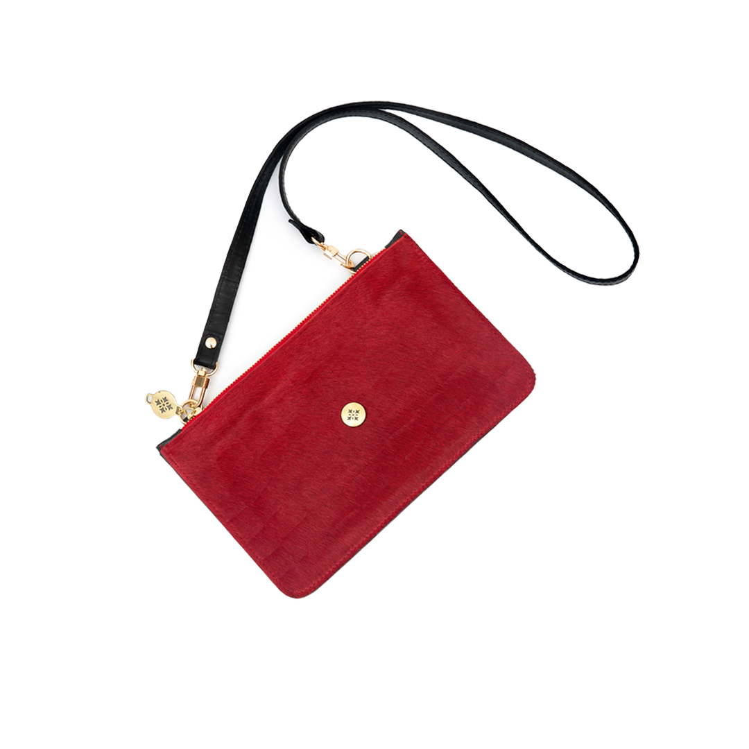 Pocket Bag Duo Pelo Rojo