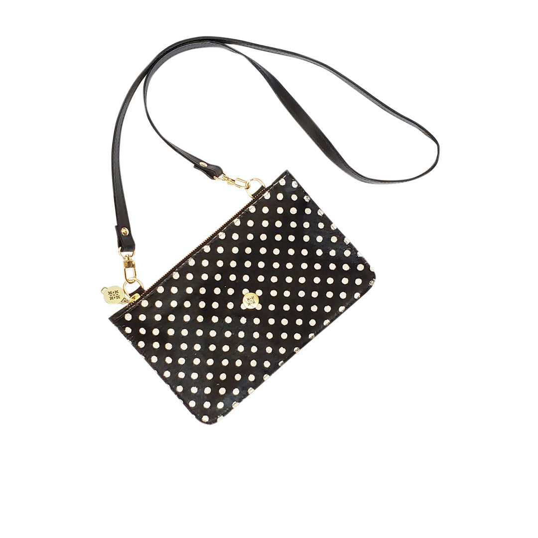 Pocket Bag Duo Negra Lunares