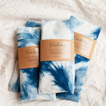 Shop Embody Shibori Indigo Dyed Lavender and Flaxseed Eye Pillow