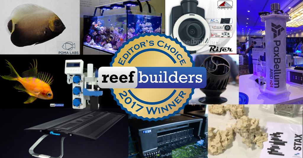 Pax Bellum and STAX featured in ReefBuilders Best of 2017