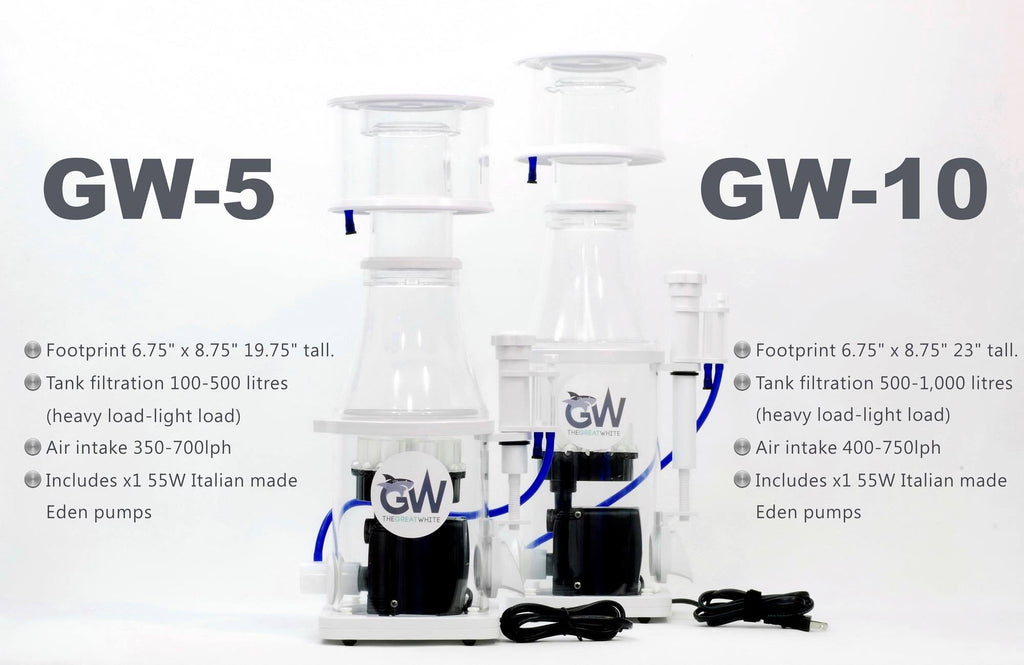 Best in class: superior quality and value, quiet and efficient, The Great White protein skimmer
