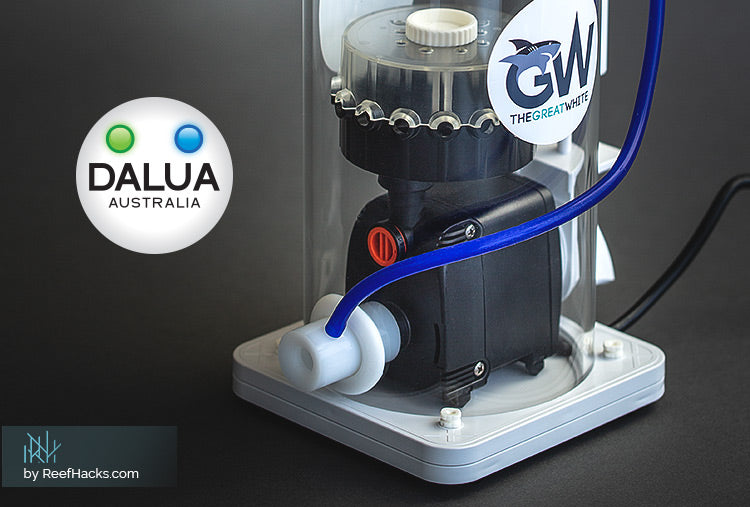 By Reefhacks.com: DALUA Australia enters the US market with the new skimmer: Detailed Review.