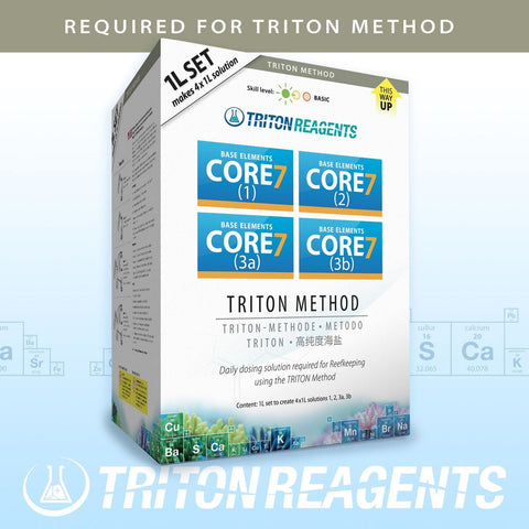 CORE7 Base Elements 4x1000ml Triton Method