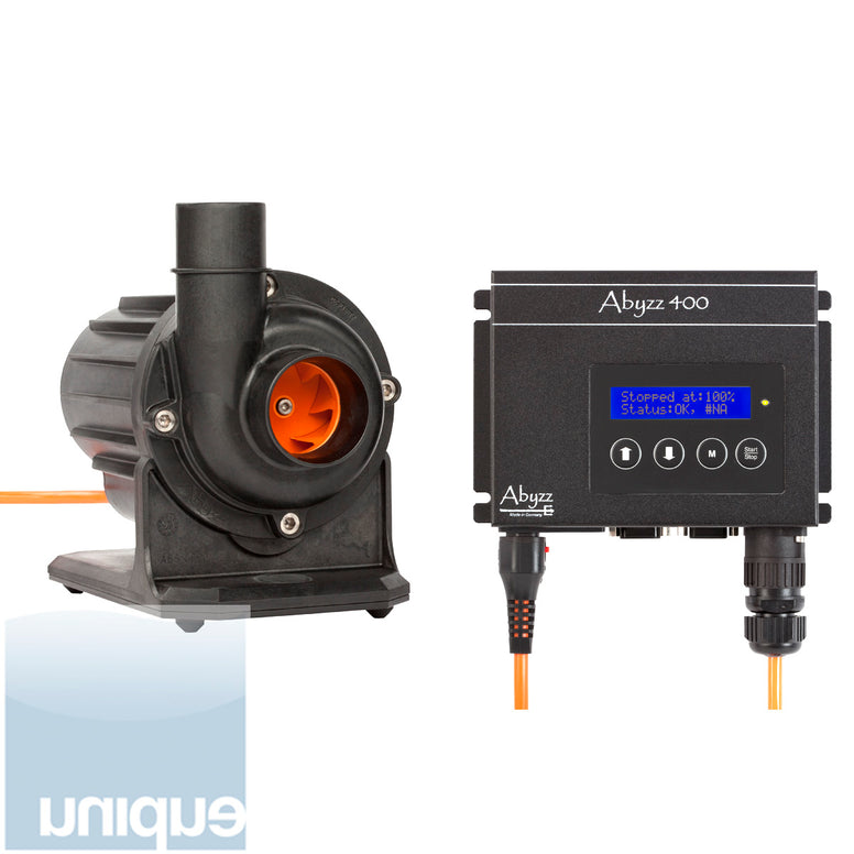 Abyzz 400 110V DC Pump. Complete unit with Controller