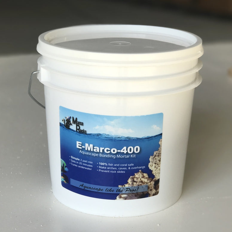 E-Marco-400 Aquascaping Mortar Complete Kit