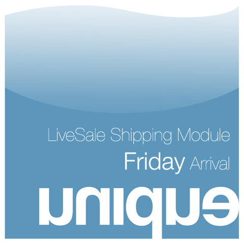 Live Sale Shipping Module for May 4th Arrival