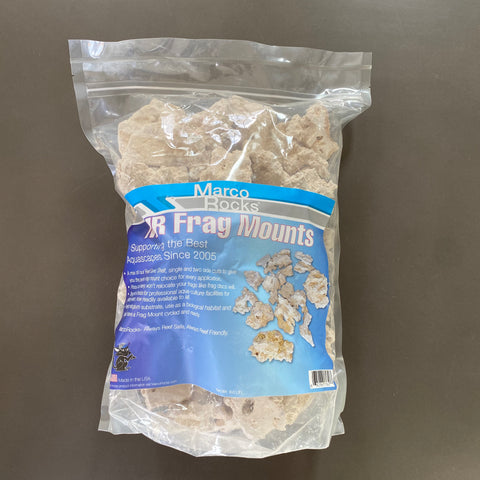 MarcoRocks Frag Mounts- 9lb bag (NEW!)