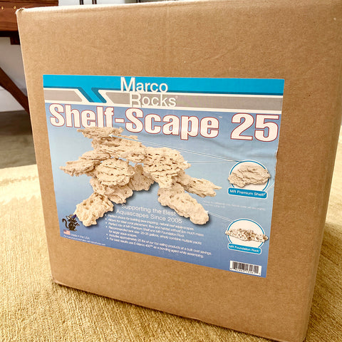 MarcoRocks Shelf-Scape 25 Kit  (15lb box) Free Shipping
