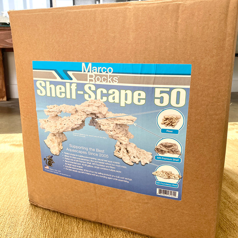 MarcoRocks Shelf-Scape 50 Kit  (35lb box) Free Shipping