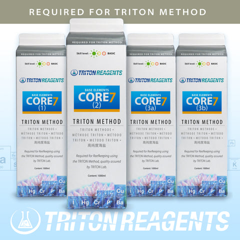 Triton CORE7 Base Elements 4x1000ml Triton Method
