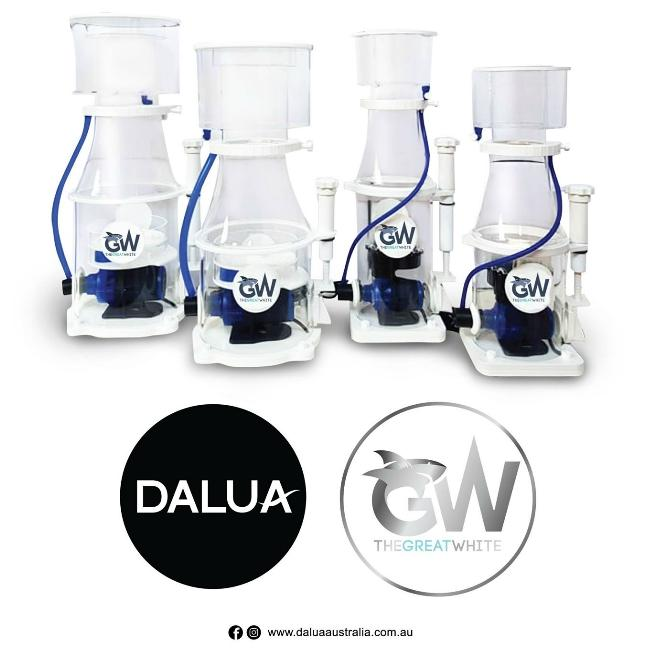 NEW! Dalua Great White DC Protein Skimmer GW-7 up to 185 gallons