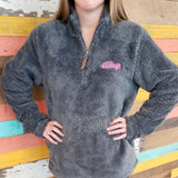 Sherpa Fleece Pullover