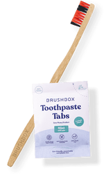 Bamboo Brush & Toothpaste Tabs (Annual Subscription)