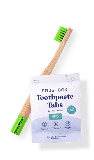 Bamboo Brush & Toothpaste Tabs (Bi-monthly Subscription)