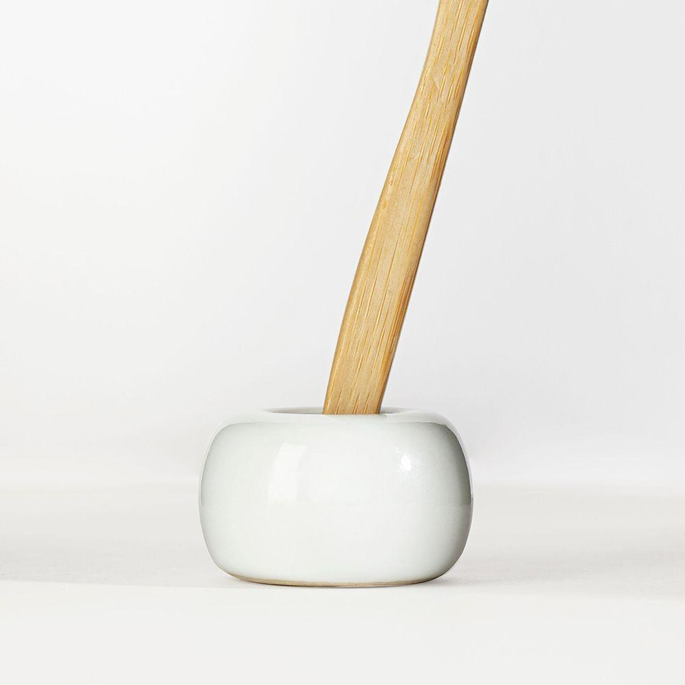 """Keep 'em Dry"" Toothbrush Stands"