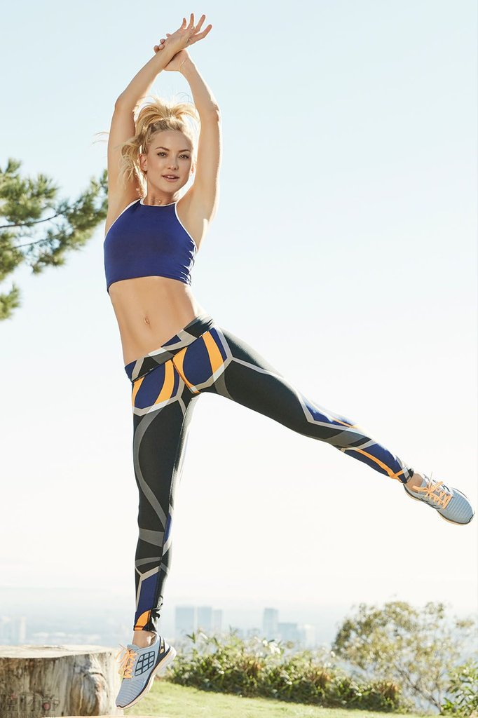 Kate Hudson Fabletics Celebrity Athleisure Brand