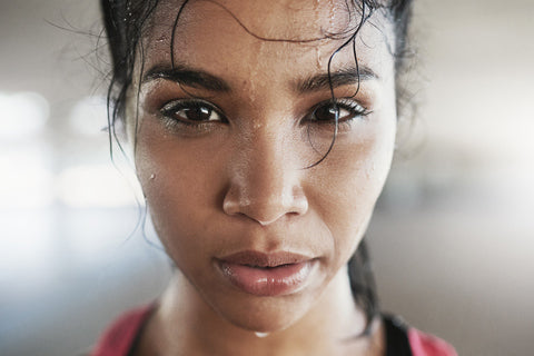 5 Ways to Keep Sweat Out of Your Face During Workouts - Gymwrap By