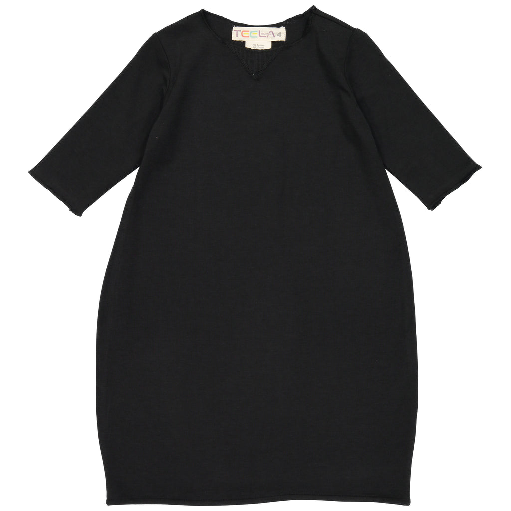Teela Black Bubble Dress