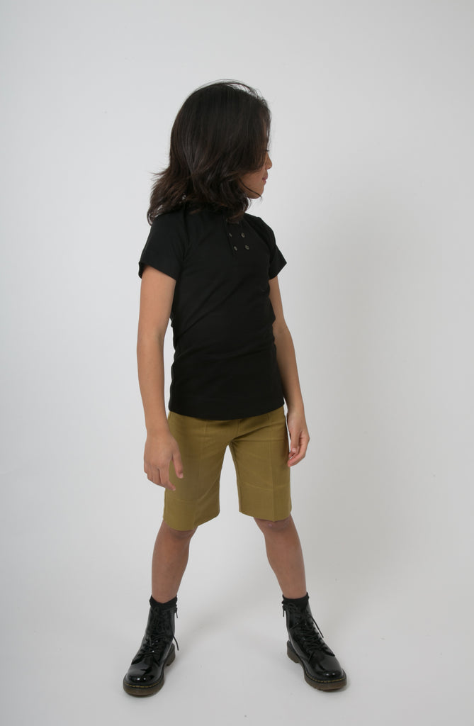 Carbon Soldier Black Tevaga Tee