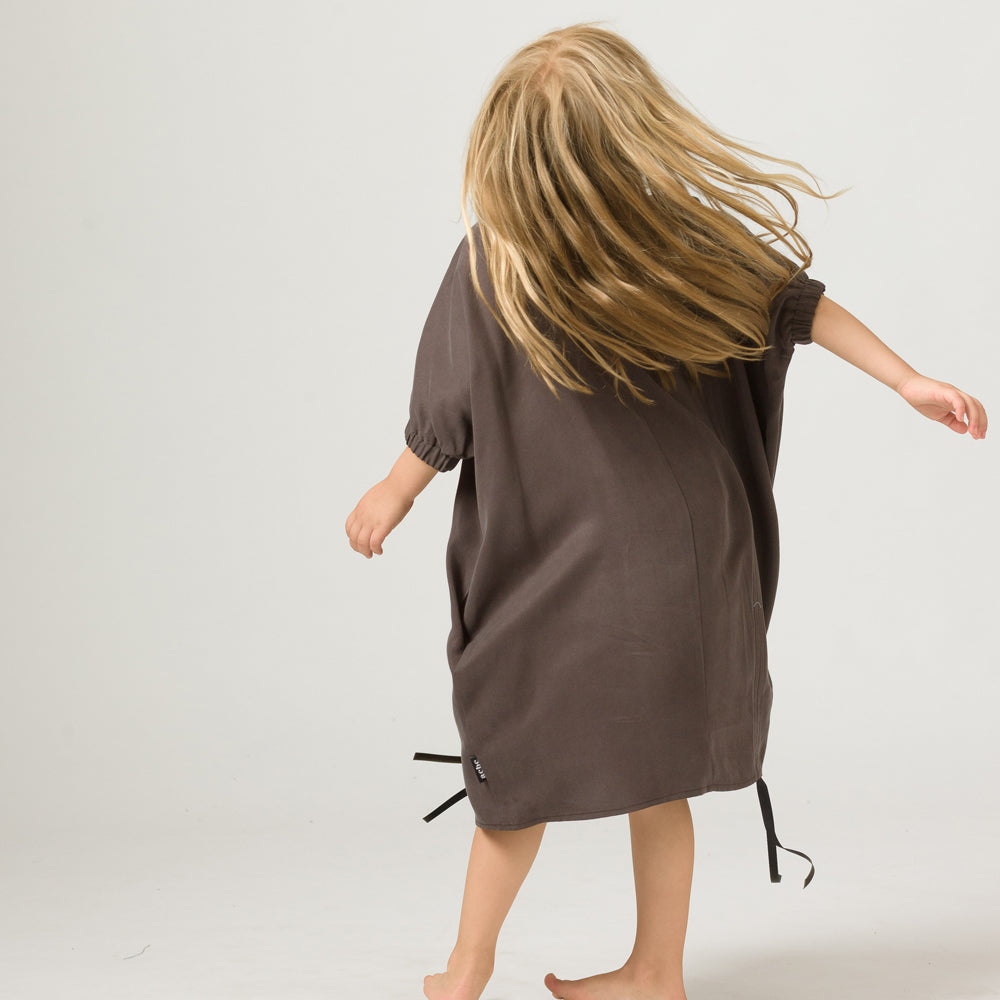 ACBC Chocolate Crinkled Dress