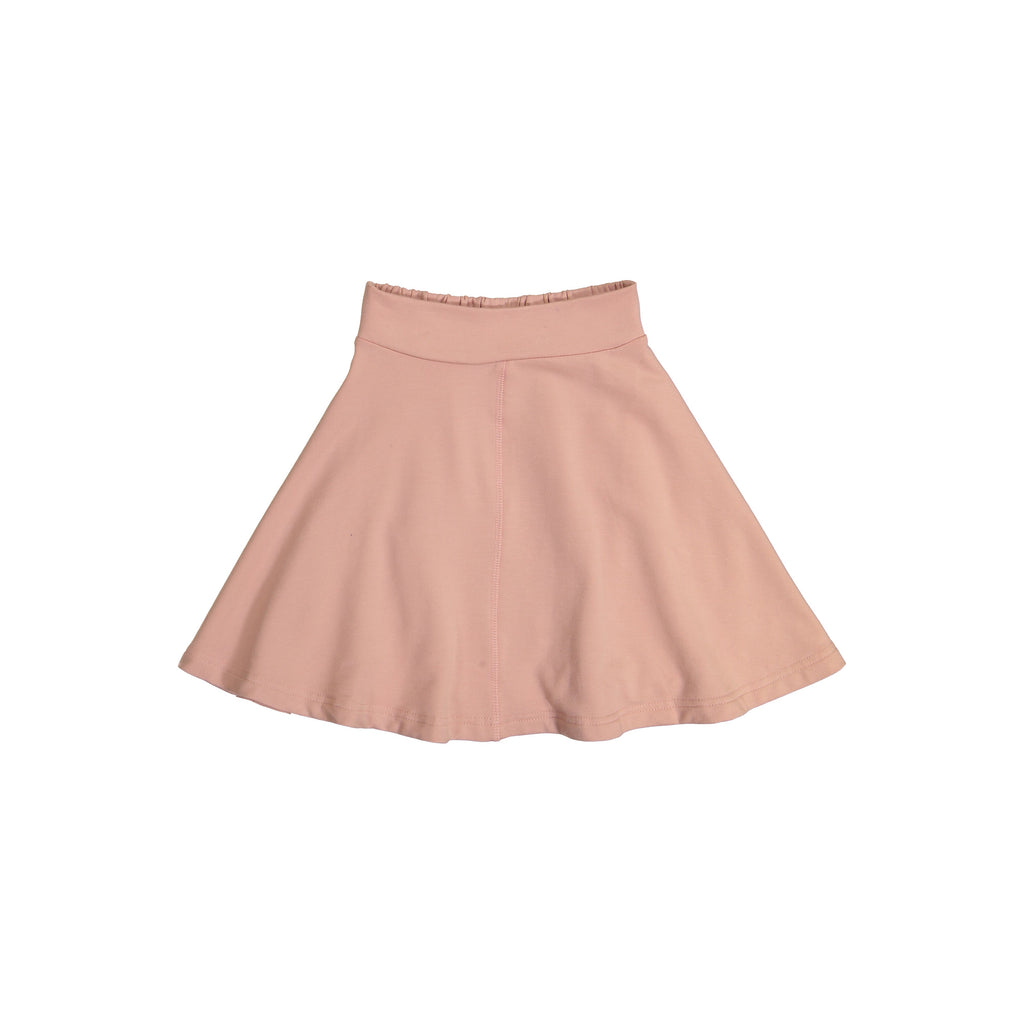 Teela Blush Knit Circle Skirt