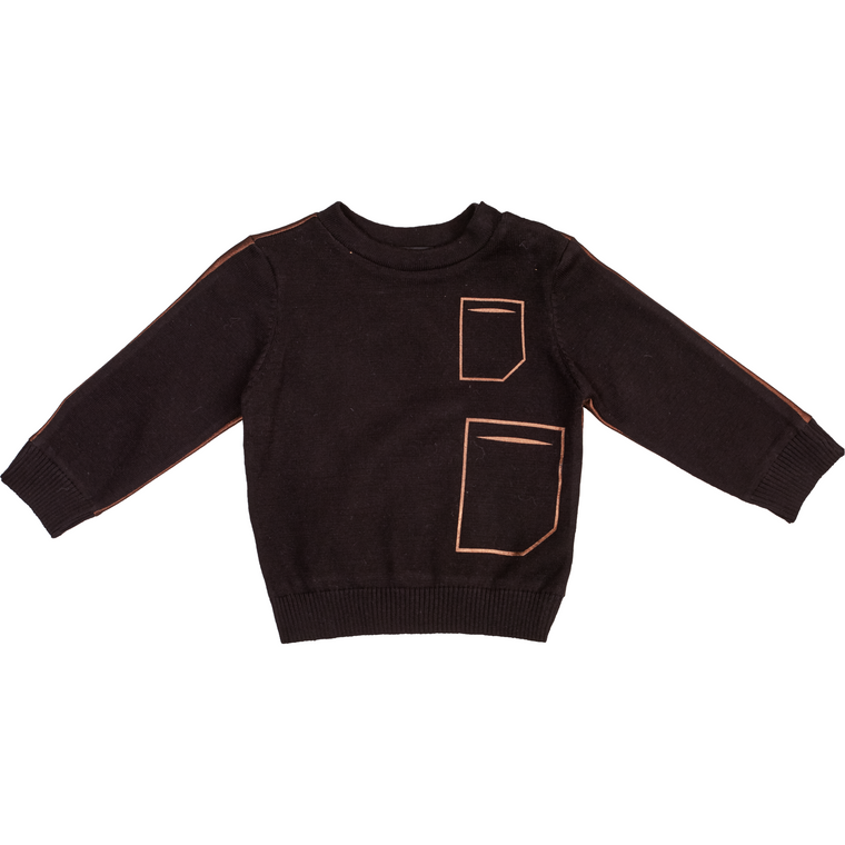 Blumint Black/Copper Sweater