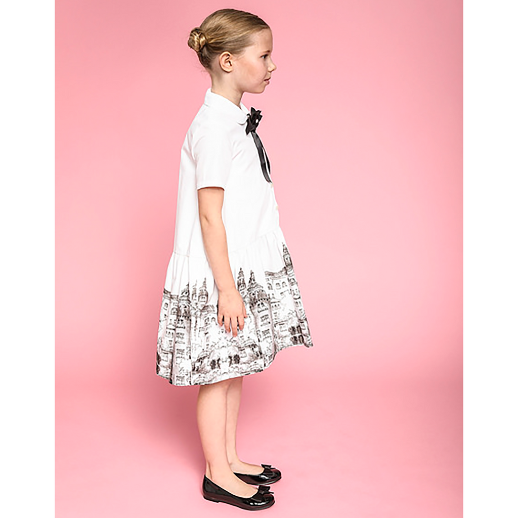 Aisabobo Isabella Dress With Bow Tie