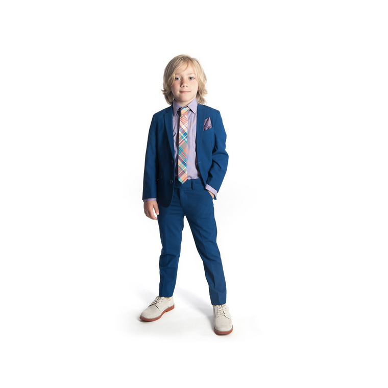 Appaman French Blue Two Piece Mod Suit