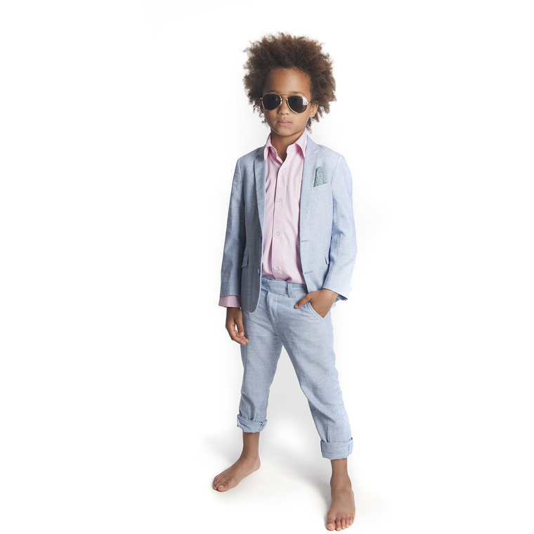 Appaman Sky Blue Two Piece Mod Suit