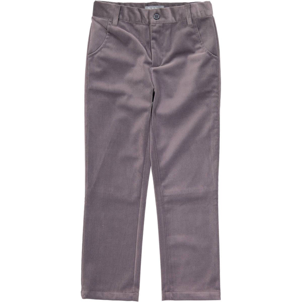 Belati Dark Grey Corduroy Pants