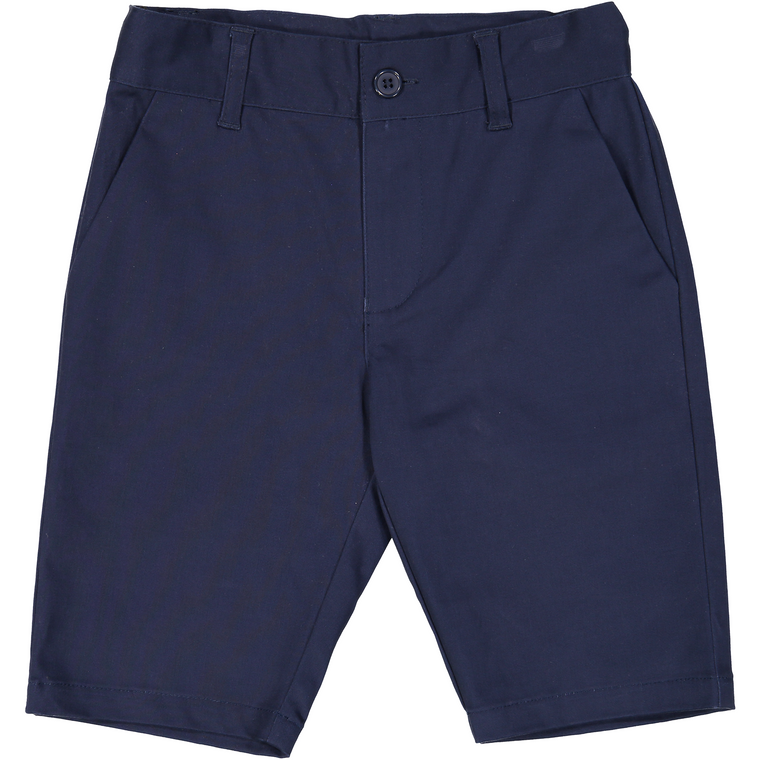 Belati Navy Stretch Bermuda Shorts