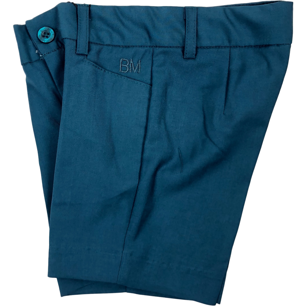 Blumint Teal Stretch Bermuda Shorts