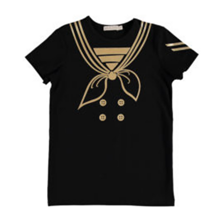 Carbon Soldier Black/Gold Captain Tuck Tee