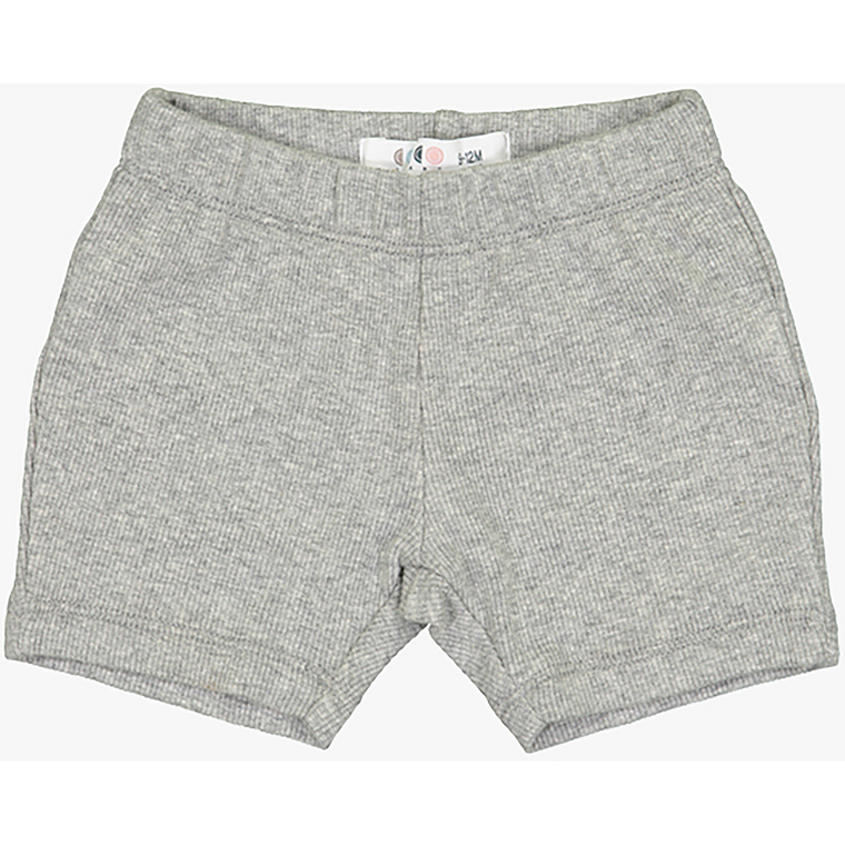 Coco Blanc Grey Heather Biker Shorts
