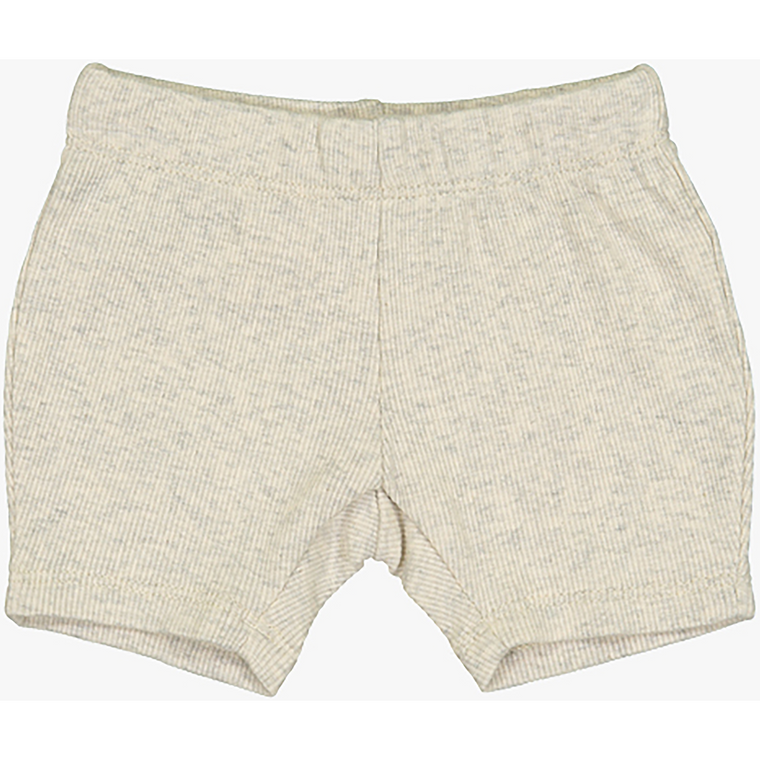 Coco Blanc Oatmeal Heather Biker Shorts
