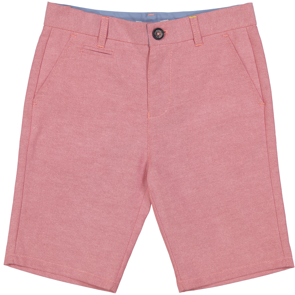 Coco Blanc Red Oxford Shorts