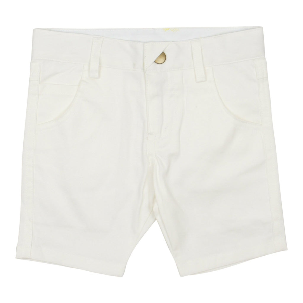 Crew White Chino Shorts