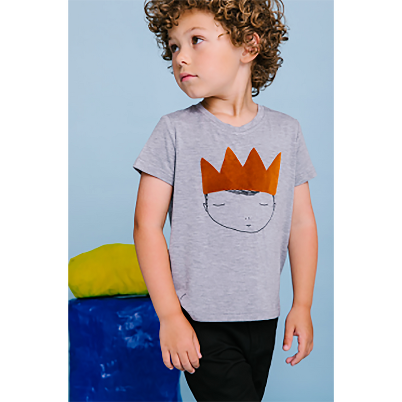 Crew Grey Crown Tee