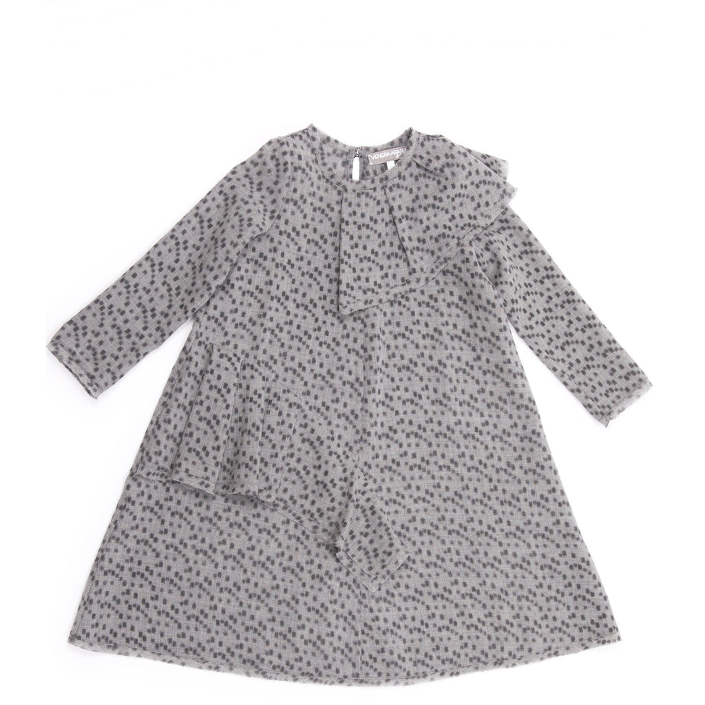 Venera Arapu Grey Demetra Dress