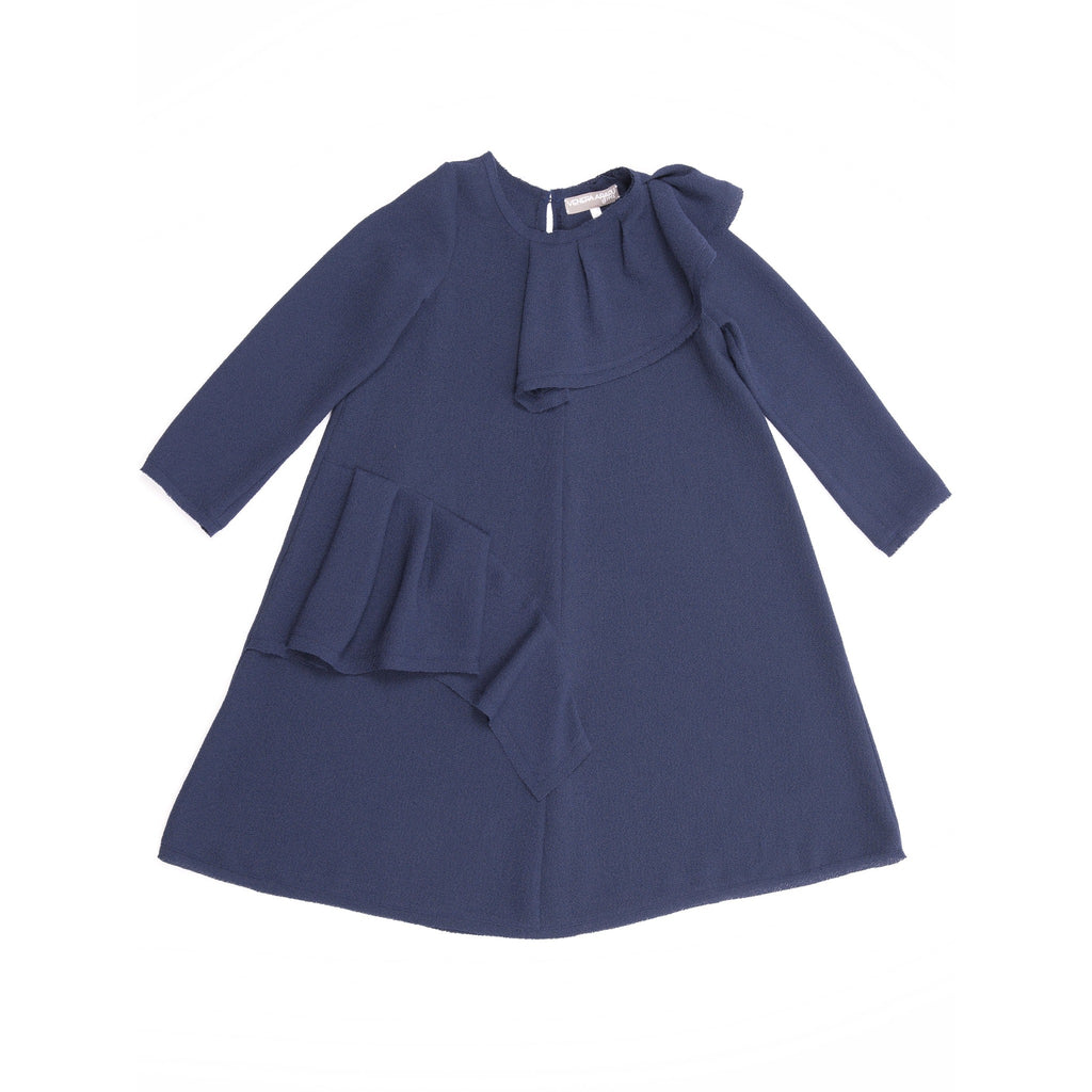 Venera Arapu Navy Demetra Dress