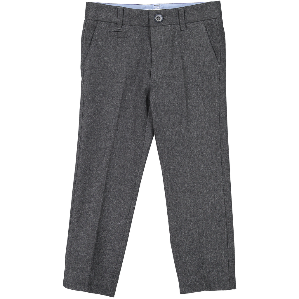 Coco Blanc Dark Grey Heather Wool Pants AW18