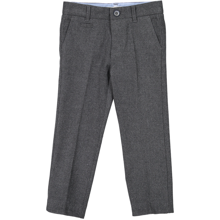 Coco Blanc Dark Grey Heather Wool Pants