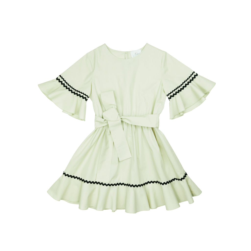 Miss L Ray Sand Ellie Dress